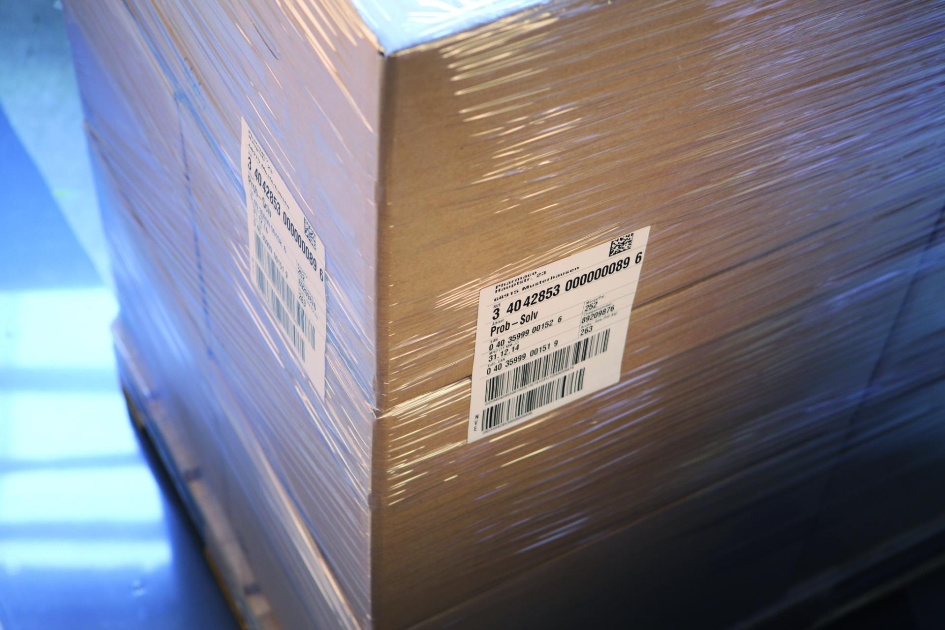 Etikettendruckspender / Palettenetikettierer
