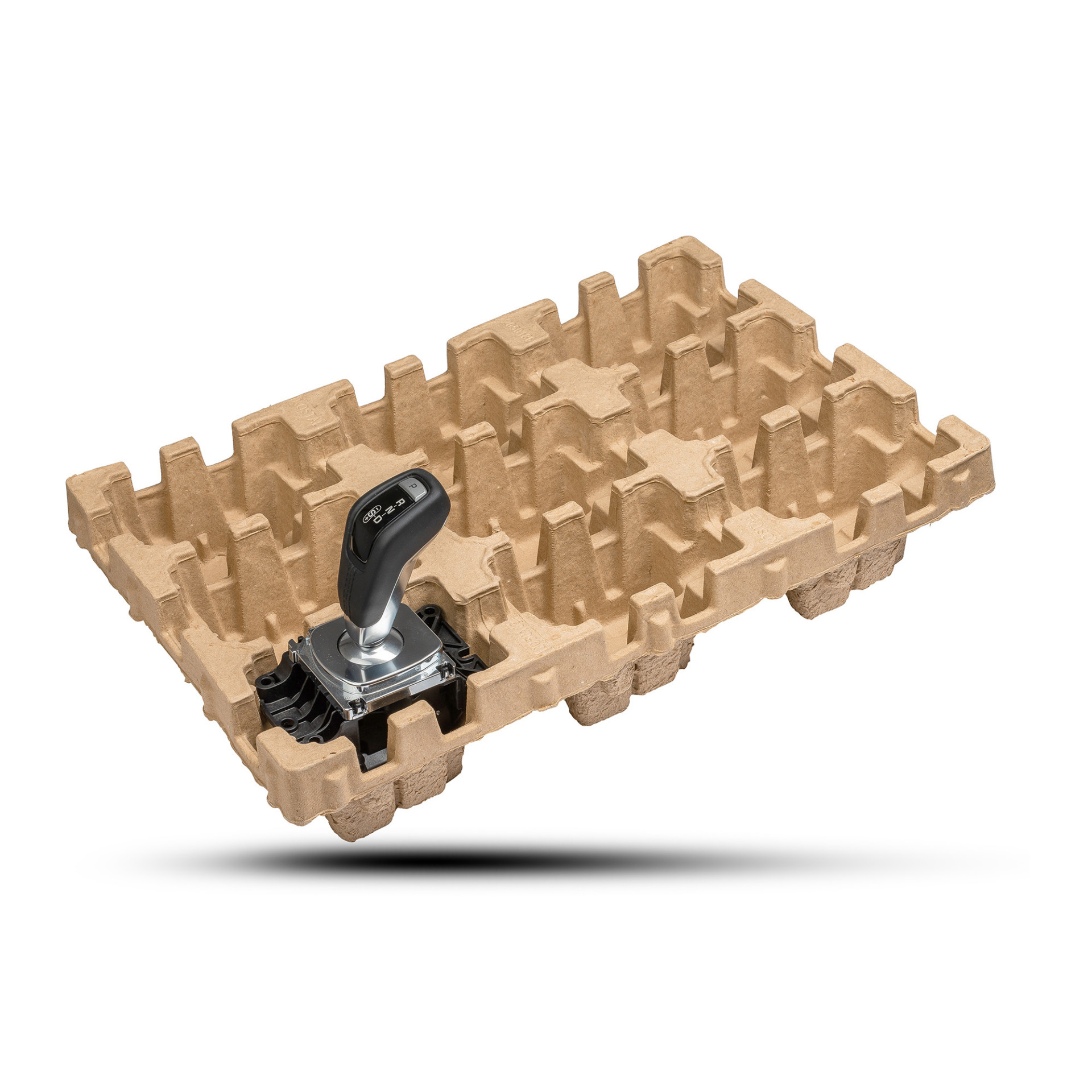 Pulp-Tec Faserguss Verpackung Automotive