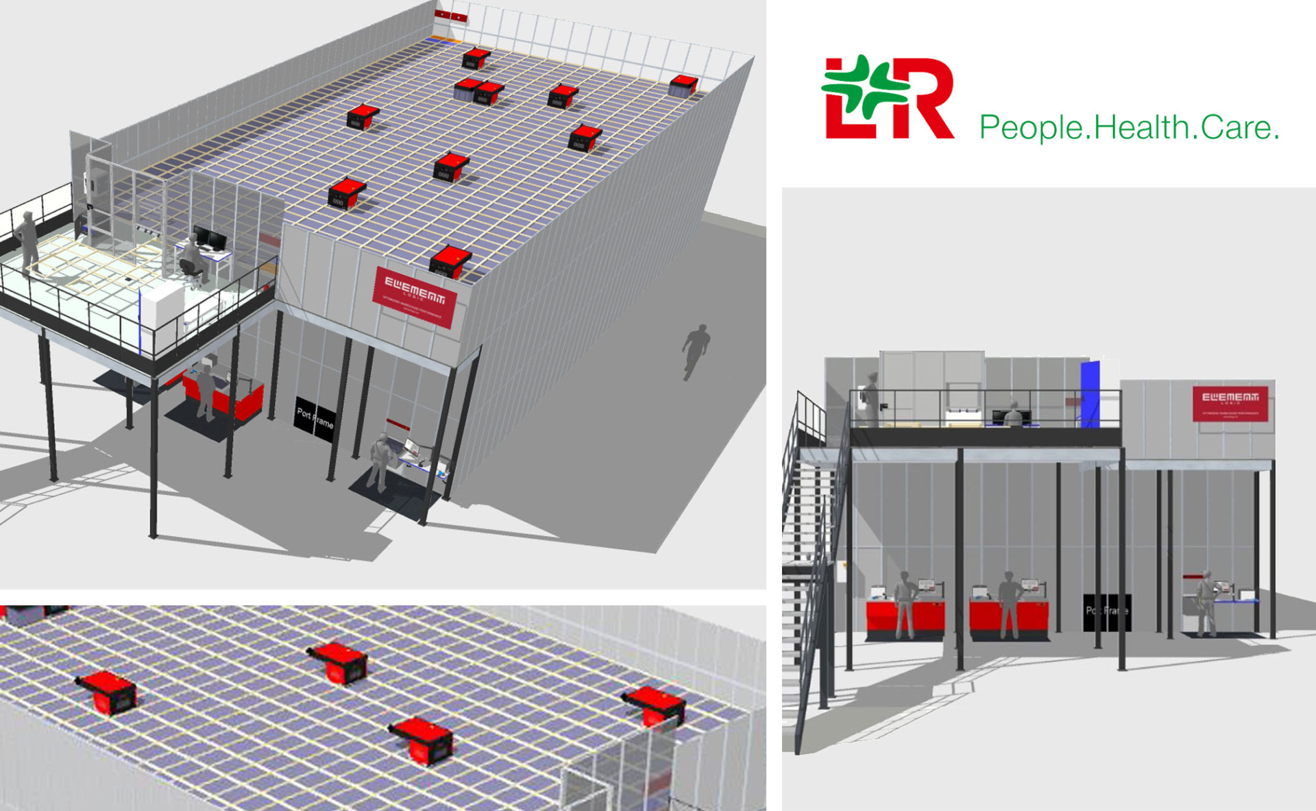 Medical device manufacturer, Lohmann & Rauscher, automated their warehouse with Element Logic