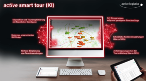Automatische Disposition und Tourenoptimierung mit Künstlicher Intelligenz (KI)