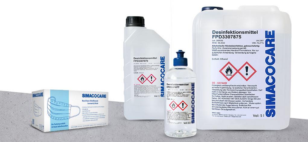 Virenschutz mit SIMACOCARE